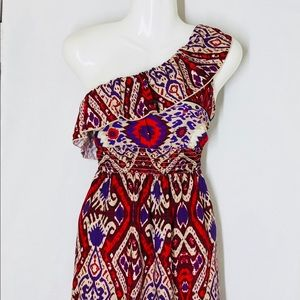 As U Wish Cute summer one shoulder Dress